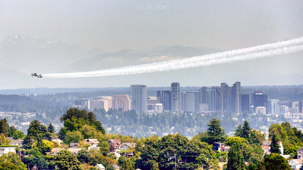 US Navy Blue Angels at Seafair | Photo © Tim Durkan